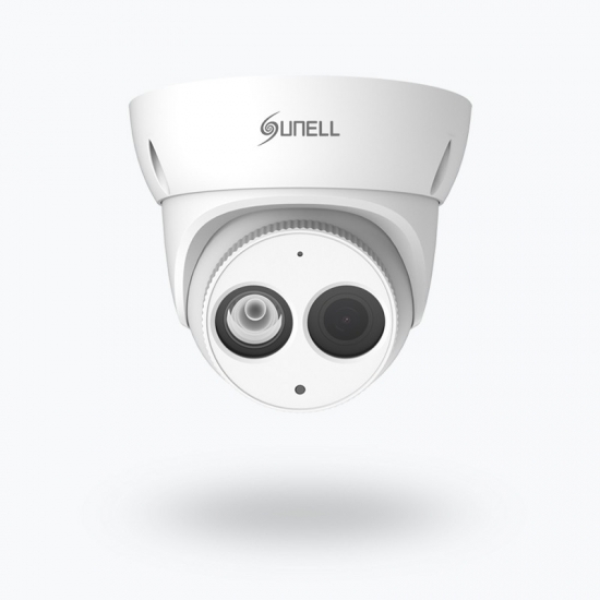 IR Fixed Eyeball Network POE Camera